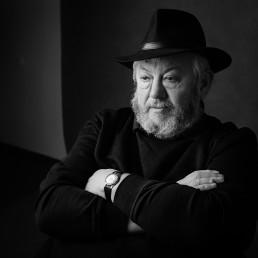 portret mężczyzny w kapeluszu