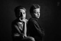 portret dziecięcy wykonany w studio