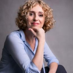 specjalistka od marketingu na portrecie biznesowym