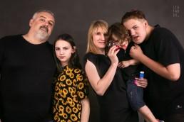 rodzinny portret w studio