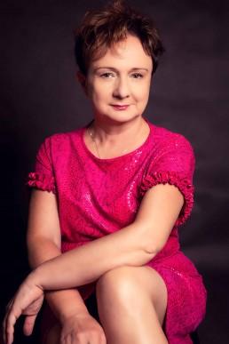 portret Kamilli podczas sesji studyjnej w Wadowicach